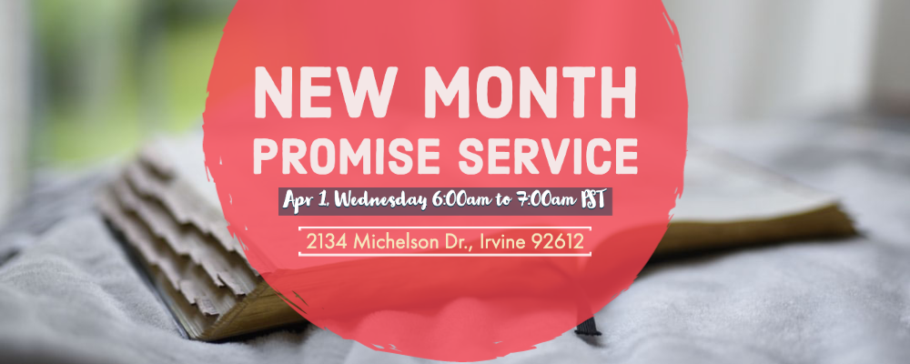New Month Promise Service